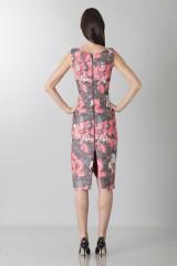 Drexcode - Fuchsia dress with geometric panels - Antonio Berardi - Sale - 2