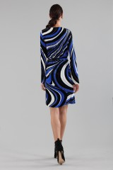 Drexcode - Dress with psychedelic print - Emilio Pucci - Sale - 3