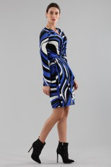 Drexcode - Dress with psychedelic print - Emilio Pucci - Sale - 5