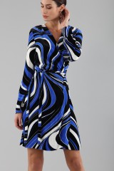 Drexcode - Dress with psychedelic print - Emilio Pucci - Sale - 2