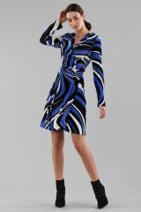 Drexcode - Dress with psychedelic print - Emilio Pucci - Sale - 1