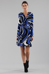 Drexcode - Dress with psychedelic print - Emilio Pucci - Sale - 4