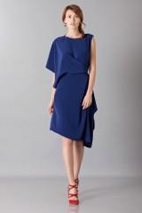 Drexcode - Asymmetrical sleeve dress - Albino - Rent - 5