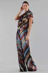 Drexcode - Dress in multicoloured sequins - Alcoolique - Sale - 3