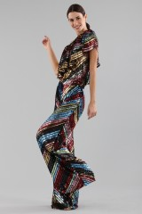 Drexcode - Dress in multicoloured sequins - Alcoolique - Sale - 1