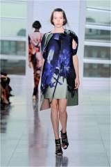 Drexcode - Asymmetrical bustier with floreal printing - Antonio Berardi - Sale - 2