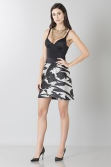 Drexcode - Short skirt with flowers - Blumarine - Rent - 4