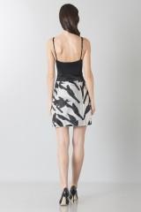 Drexcode - Short skirt with flowers - Blumarine - Sale - 2