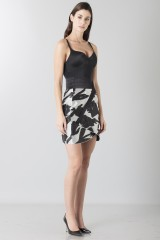 Drexcode - Short skirt with flowers - Blumarine - Sale - 3