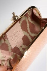 Drexcode - Pink leather clutch  - Vivienne Westwood - Rent - 2