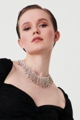 Drexcode - Necklace with crystal fringes  - CA&LOU - Sale - 2