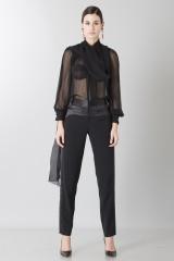 Drexcode - Camicia nera in seta - Blumarine - Rent - 2
