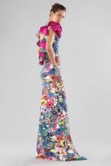 Drexcode - Printed dress with bare back  - Chiara Boni - Sale - 4