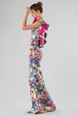 Drexcode - Printed dress with bare back - Chiara Boni - Rent - 7