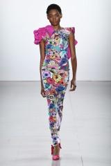 Drexcode - Printed dress with bare back  - Chiara Boni - Sale - 7