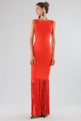 Drexcode - Red fringed dress - Chiara Boni - La Petite Robe - Rent - 1