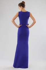 Drexcode - Long dress with maxi bow - Chiara Boni - Rent - 4