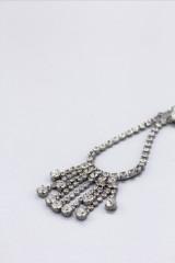 Drexcode - Orecchini in ottone con finitura in argento e cristalli Swaroski - CA&LOU - Rent - 3