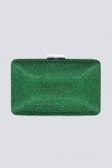 Drexcode - Black clutch with pompom  - Anna Cecere - Rent - 2