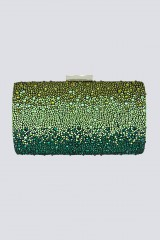 Drexcode - Black clutch with pompom  - Anna Cecere - Rent - 1