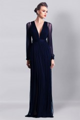 Drexcode - Blue dress with lace - Cristallini - Rent - 8