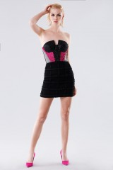 Drexcode - Short bustier with fabric decorations - Daniele Carlotta - Rent - 1