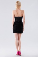 Drexcode - Short bustier with fabric decorations - Daniele Carlotta - Rent - 2