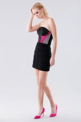 Drexcode - Short bustier with fabric decorations - Daniele Carlotta - Rent - 3