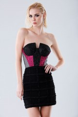 Drexcode - Short bustier with fabric decorations - Daniele Carlotta - Rent - 5