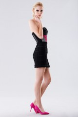 Drexcode - Short bustier with fabric decorations - Daniele Carlotta - Rent - 6