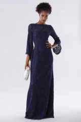 Drexcode - Blue lace dress with long sleeves - Daphne - Rent - 6