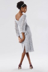 Drexcode - Longuette lace dress with calla sleeves - Daphne - Sale - 4