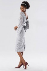 Drexcode - Longuette lace dress with calla sleeves - Daphne - Sale - 3