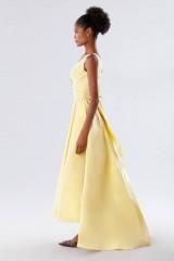 Drexcode - Yellow taffeta dress - Daphne - Sale - 3