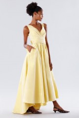 Drexcode - Yellow taffeta dress - Daphne - Sale - 8