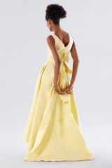 Drexcode - Yellow taffeta dress - Daphne - Sale - 5