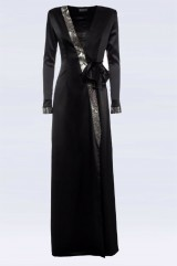 Drexcode - Long dress with rhinestone strap - Doris S. - Rent - 4