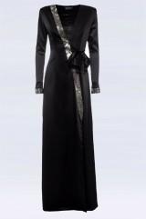 Drexcode - Long dress with rhinestone strap - Doris S. - Sale - 4