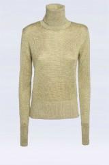 Drexcode - High-necked golden sweater - Doris S. - Rent - 4
