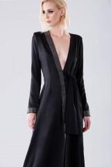 Drexcode - Long dress with rhinestone strap - Doris S. - Sale - 2