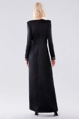 Drexcode - Long dress with rhinestone strap - Doris S. - Rent - 3