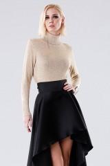 Drexcode - High-necked golden sweater - Doris S. - Rent - 1