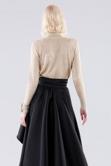 Drexcode - High-necked golden sweater - Doris S. - Rent - 3