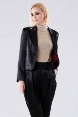 Drexcode - High-necked golden sweater - Doris S. - Rent - 2