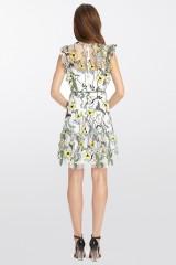 Drexcode - Floral pattern short dress - ML - Monique Lhuillier - Rent - 7