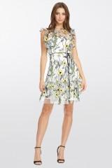 Drexcode - Floral pattern short dress - ML - Monique Lhuillier - Rent - 6