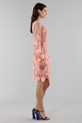 Drexcode - Cocktail dress with 3D floral embroidery - Marchesa Notte - Rent - 6