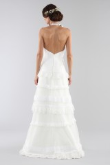 Drexcode - Lace wedding dress with american collar - Ilenia Sweet by Bellantuono - Rent - 6
