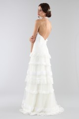 Drexcode - Lace wedding dress with american collar - Ilenia Sweet by Bellantuono - Rent - 2