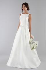 Drexcode - Wedding dress with bow on the waist - Ilenia Sweet by Bellantuono - Rent - 3